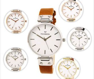 Buy Women's White Dial Leather Strap Watch for $119.99 (Was $169.00)