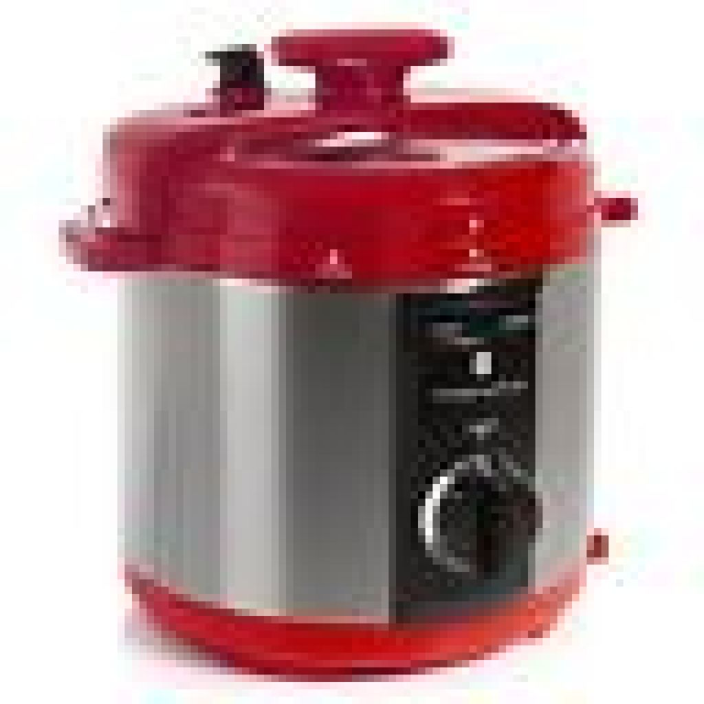 Wolfgang Puck Automatic 8 Quart Rapid Pressure Cooker with Steaming Rack   eBay