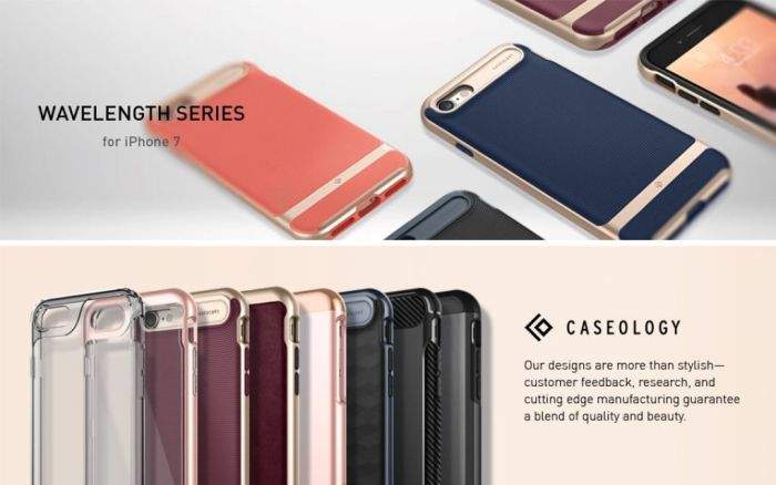 Amazon.com: Caseology Wavelength Series iPhone 7/8 Cover Case with Pattern Slim Protective for Apple iPhone 7 (2016)/iPhone 8 (2017) - Burgundy: Cell Phones & Accessories