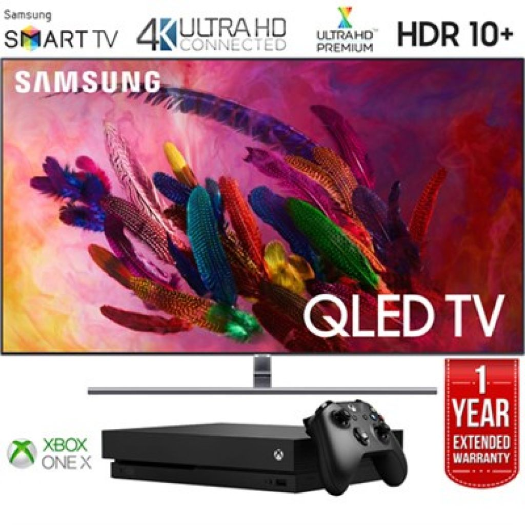 "BuyDig.com - Samsung 75"" Q7FN QLED Smart 4K UHD TV 2018 +Xbox 1TB Console +Extended Warranty"