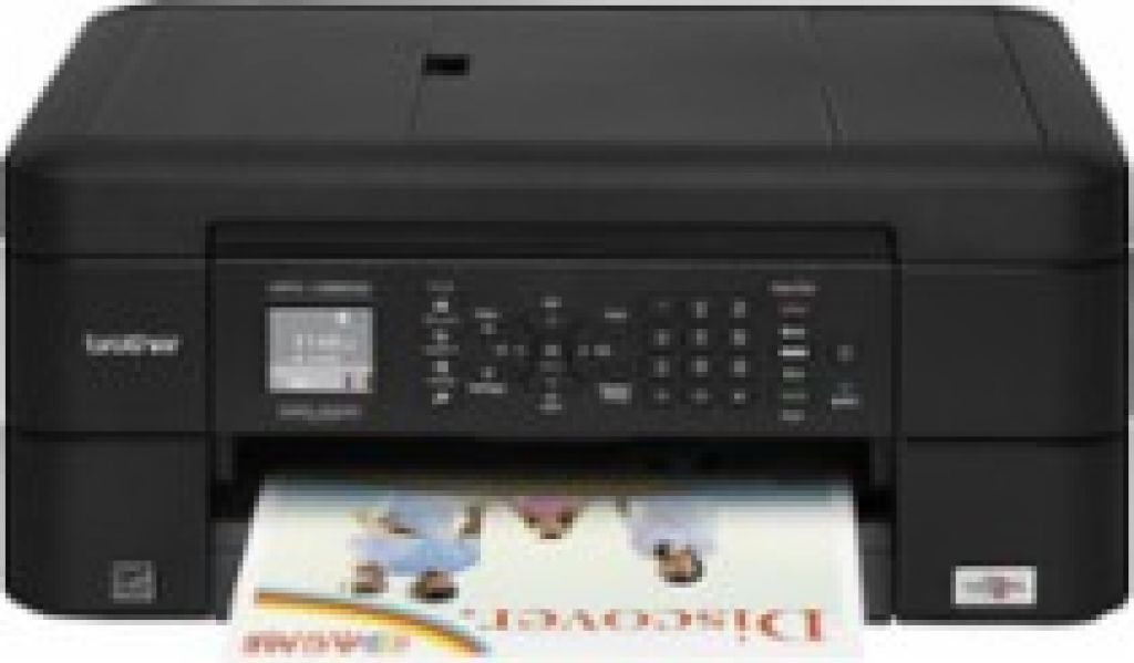 Brother MFC-J485DW Wireless All-In-One Printer Black MFC-J485DW - Best Buy