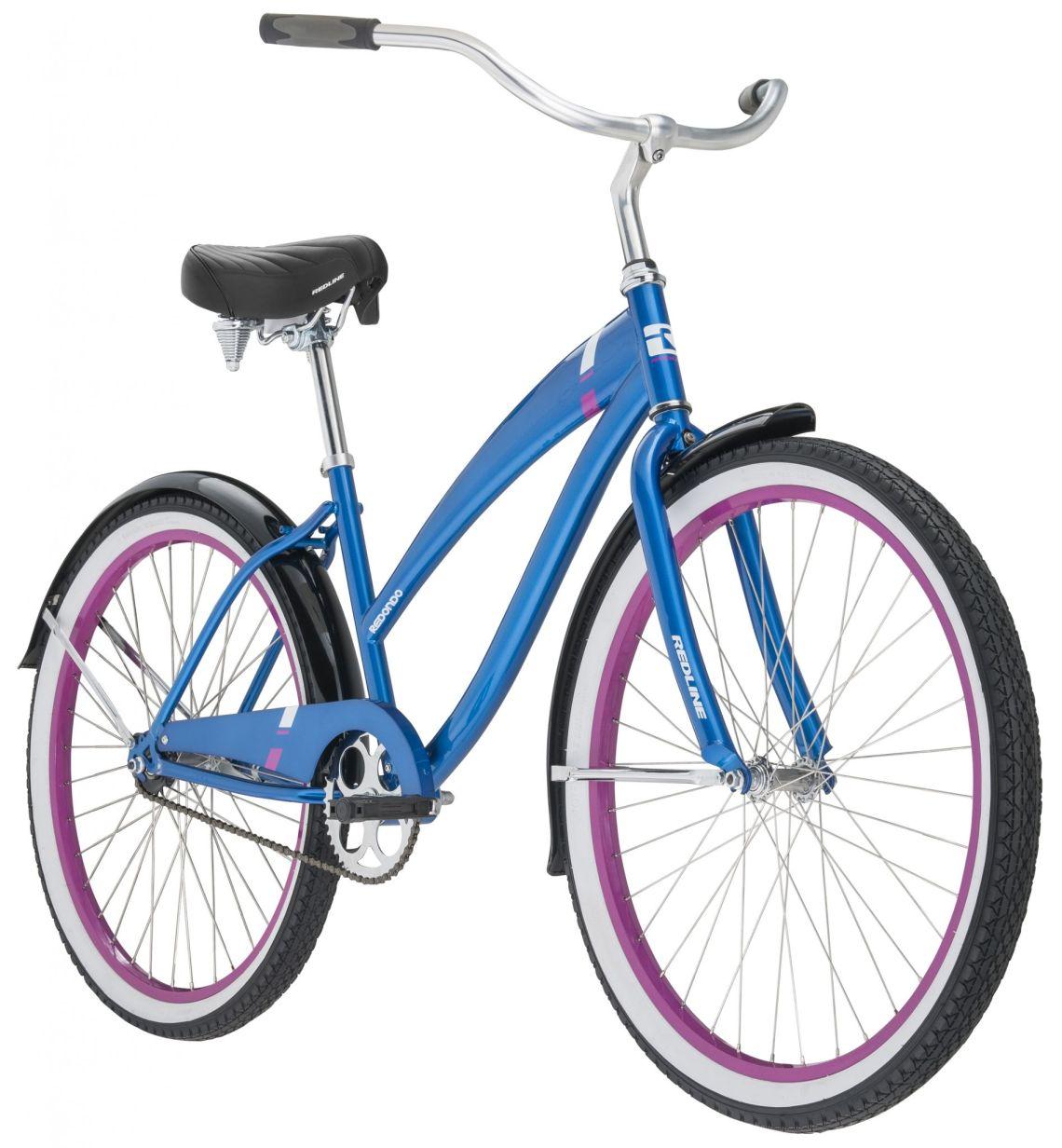 Redline Bikes Redondo Women's Cruiser Bike, One Size, Blue - Walmart.com