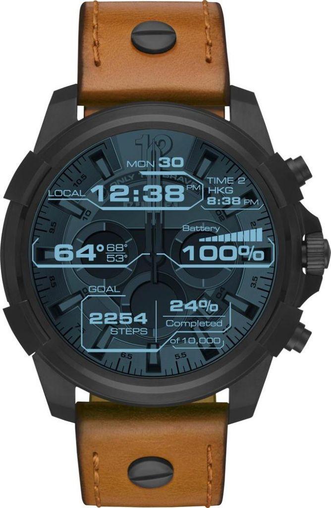 Diesel - On Full Guard Smartwatch 48mm Stainless Steel - Black 698615125043 | eBay