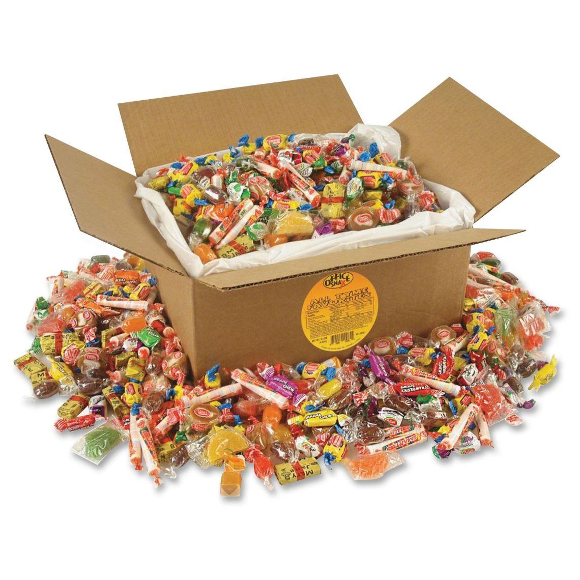 Office Snax All Tyme Favorites Candy Mix, 10 lb Box - Walmart.com
