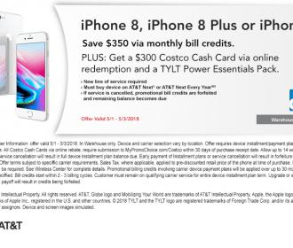 $350 Off + $300 Cash Card iPhone 8, iPhone8+, iPhone X