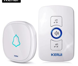 Buy 32 Songs Optional Waterproof Touch Button Smart Home Welcome Doorbell Alarm from $5.49
