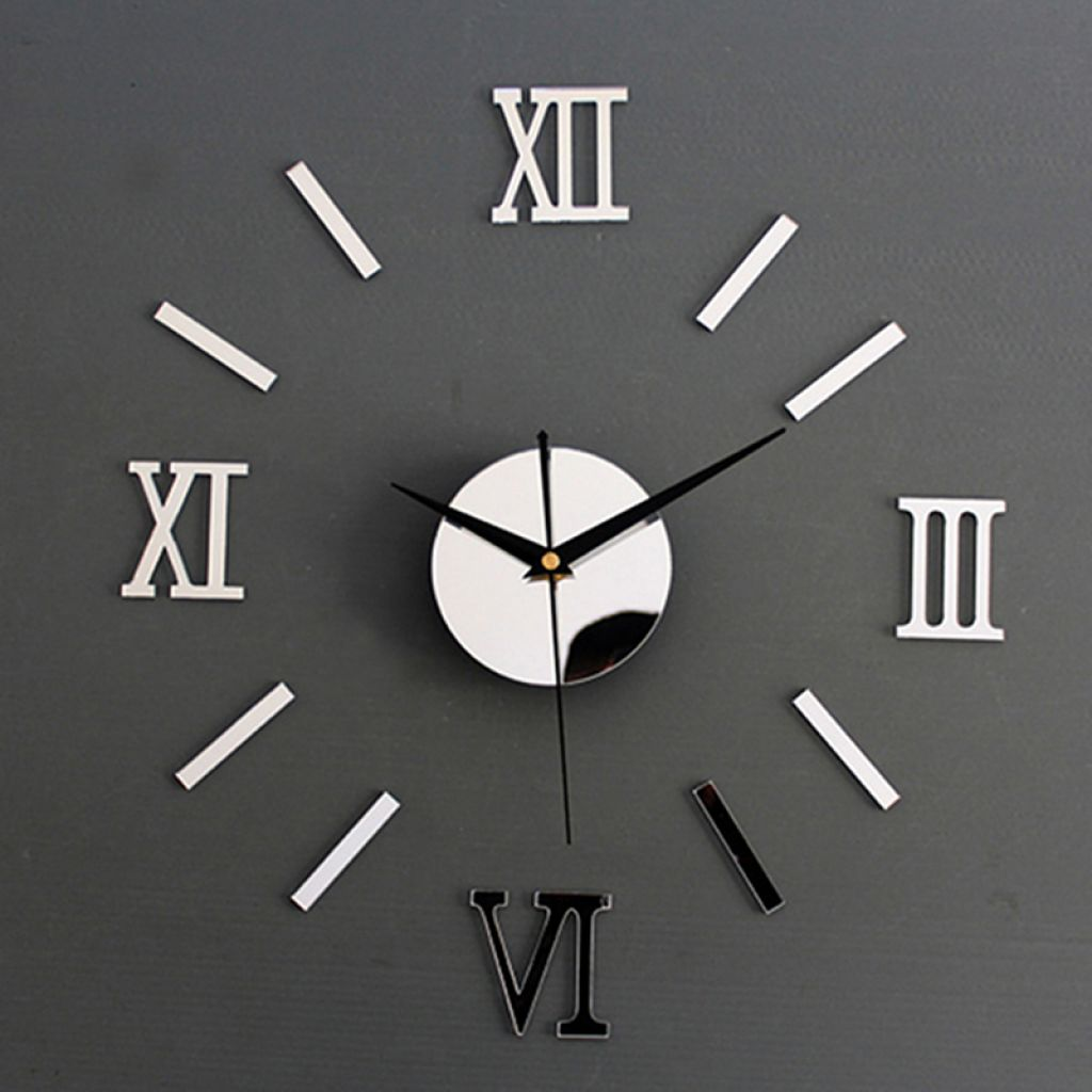 Luxury Large Wall Clock Living Room DIY 3D Home Decoration Mirror Art Design Fashion Wall Posters Decor Crafts Wall Clock New-in Wall Stickers from Home & Garden on Aliexpress.com   Alibaba Group