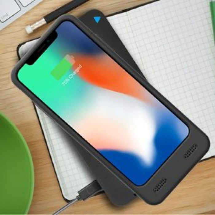 Amazon.com: iPhone X Battery Case with Qi Wireless Charging Supported, ZeroLemon iPhone X 4000mAh Slim Juicer Extended Battery Rechargeable Case for iPhone X[Apple Certified Connector]-Black: Cell Phones & Accessories