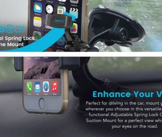 Buy Car Suction Phone Mount for $5.49