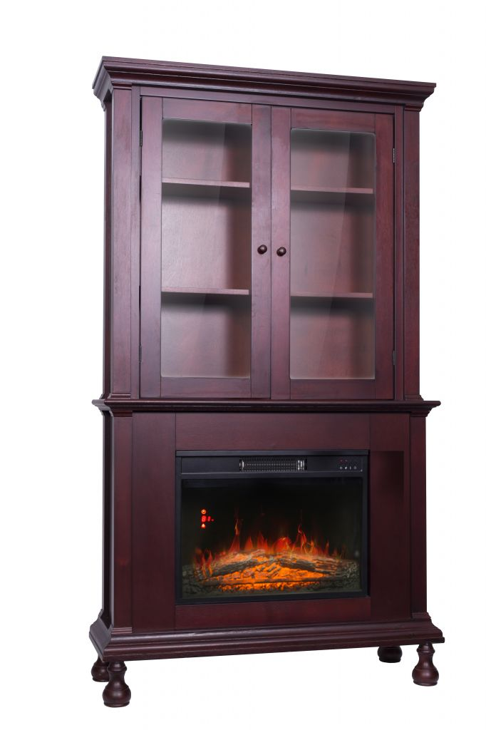 Decor Flame Electric Fireplace with 67inch High Mantle - Walmart.com