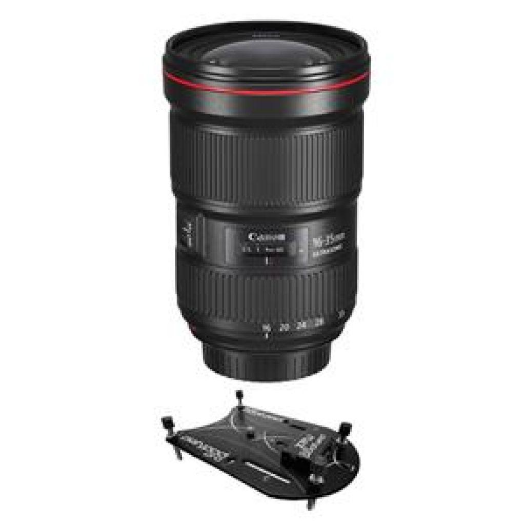Canon EF 16-35mm f/2.8L III USM Lens W/Platypod Pro Max Plate Mini Tripod