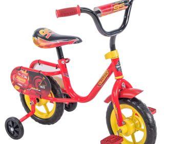 Buy Disney / Pixar Cars Lightning McQueen 10″ Boys' Pedal Bike by Huffy for $34.84