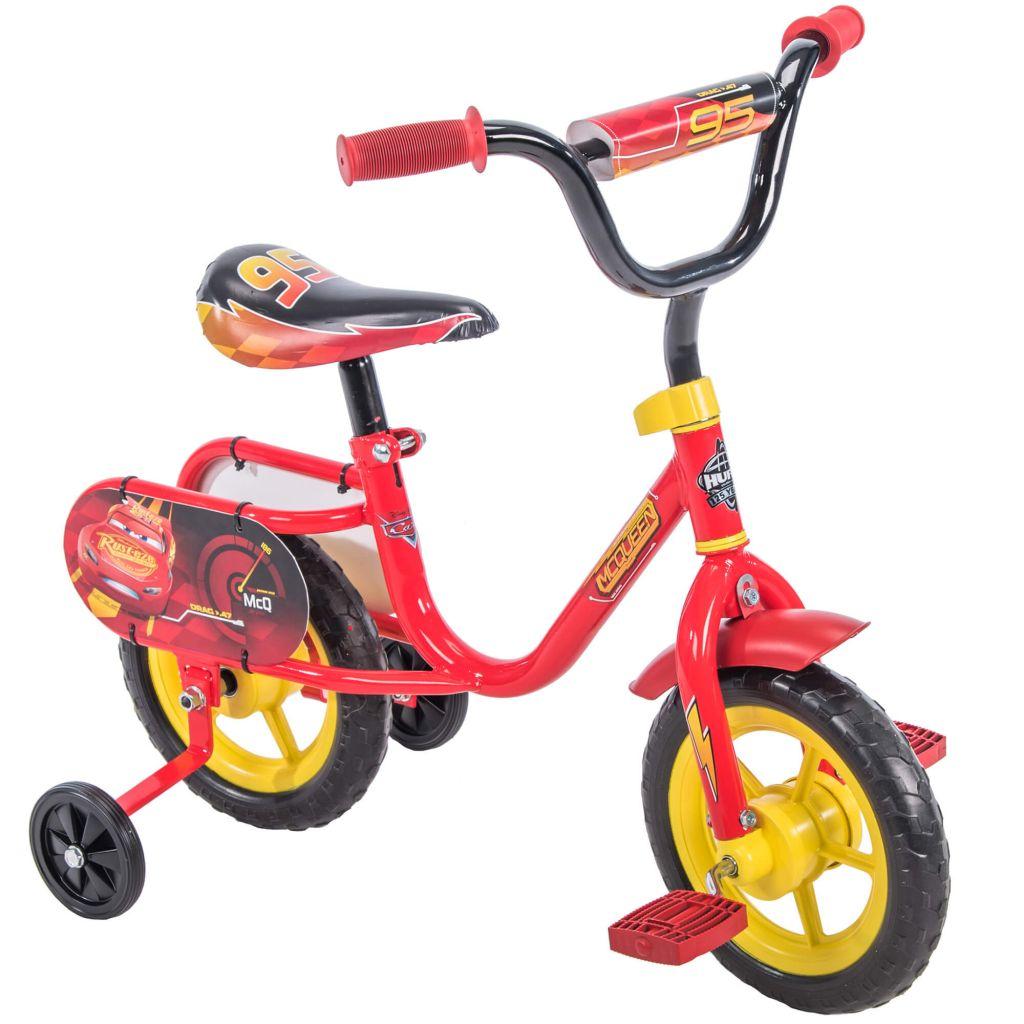 "Disney / Pixar Cars Lightning McQueen 10"" Boys' Pedal Bike by Huffy - Walmart.com"