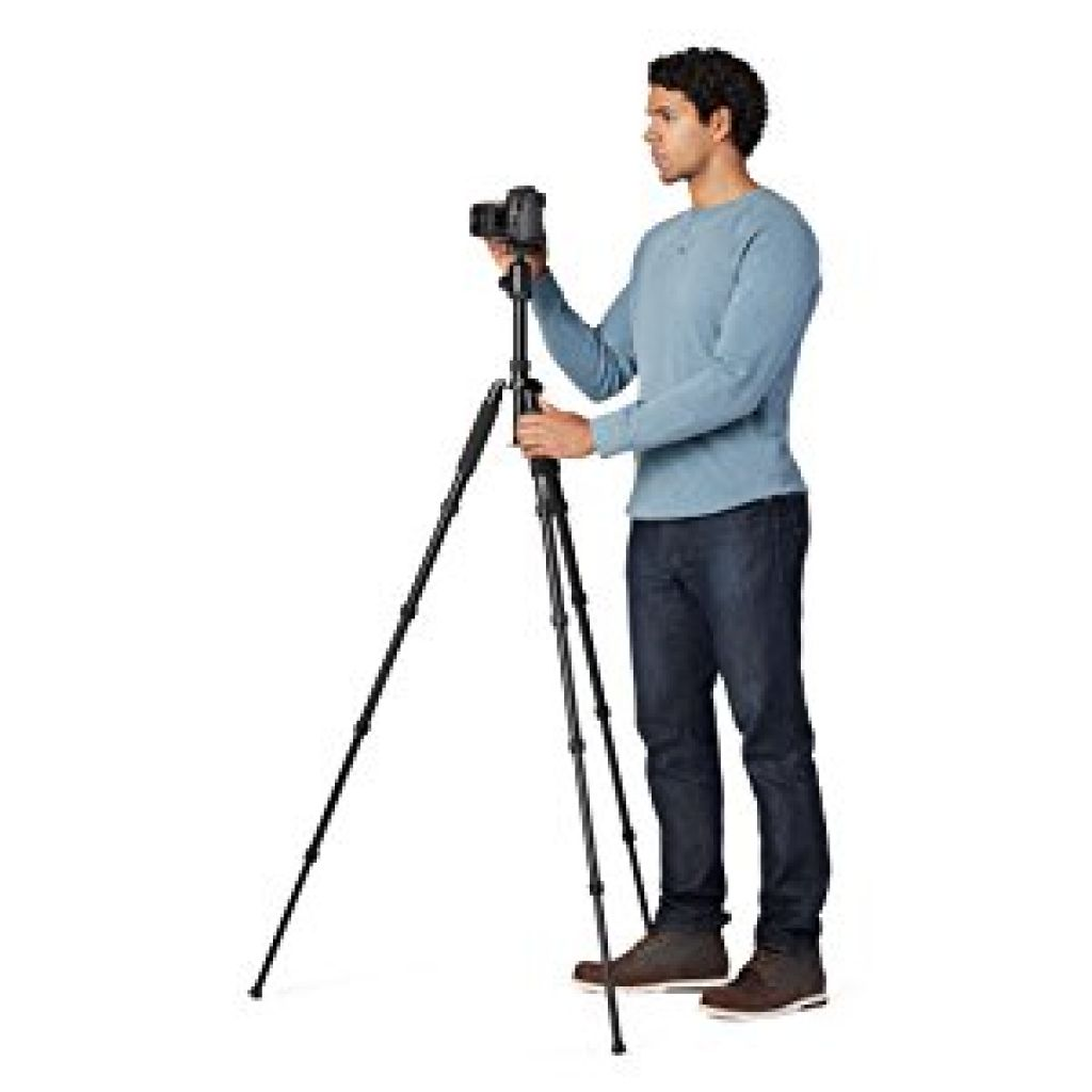 Amazon.com : AmazonBasics 63-Inch Lightweight Aluminum Travel Tripod/Monopod with Bag : Camera & Photo