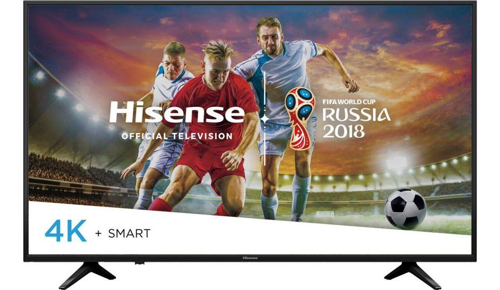 """Hisense 49"""" class 4K (2160p) HDR Smart LED TV (49H6E) - Walmart.com"""
