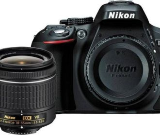 Buy Nikon D5300 DSLR Camera Body with Single Lens for Rs 38,990