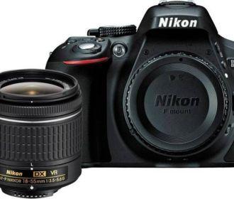 Buy Nikon D5300 DSLR Camera Body with Single Lens for Rs 38,990