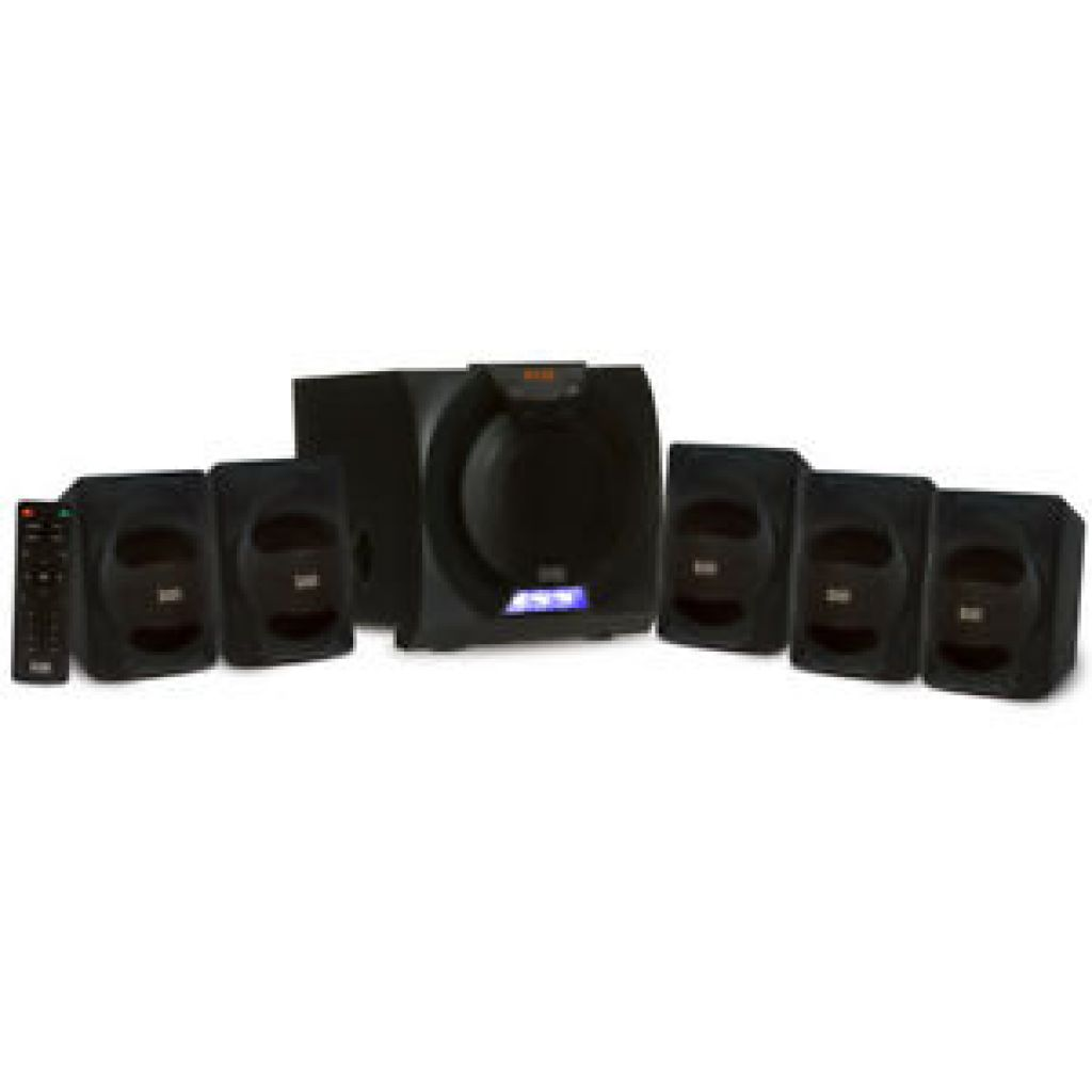 Acoustic Audio AA5230 Home Theater 5.1 Bluetooth Speaker System and LED Display | eBay