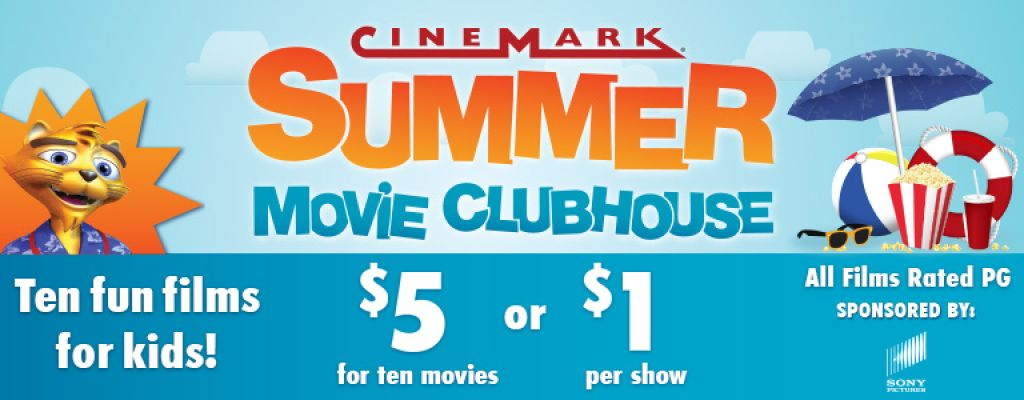 10 Kids Movies for $5 + $2 Off Popcorn or Drink or $1 per person, per movie