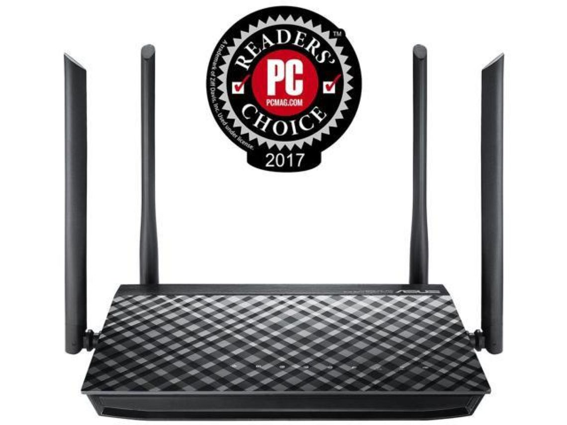 ASUS RT-AC1200G AC1200 Dual-Band Wi-Fi Router with four 5dBi antennas and Parental Controls - Newegg.com