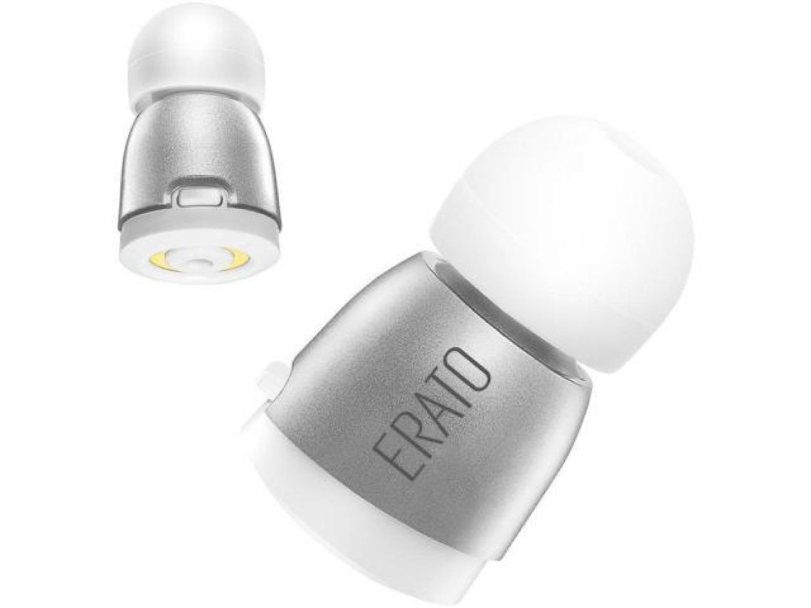 ERATO APOLLO 7 True Wireless Bluetooth Earphone with Microphone and Charging Case - Silver - Newegg.com