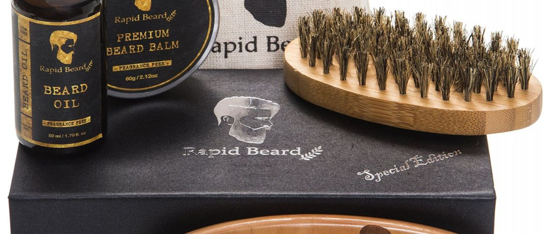 Buy Beard Grooming Brush and Beard Comb Kit for $8.52