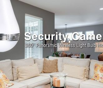 Buy WiFi Hidden Security Camera LED Bulb for $44.87 (Was $67.99)
