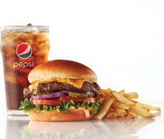 IHob: Ultimate Steakburgers + Unlimited Fries & Drinks from only $6.99