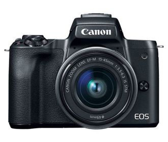 Buy Canon EOS M50 24.1MP 4K Mirrorless Digital Camera w/15-45mm Lens for $599.99
