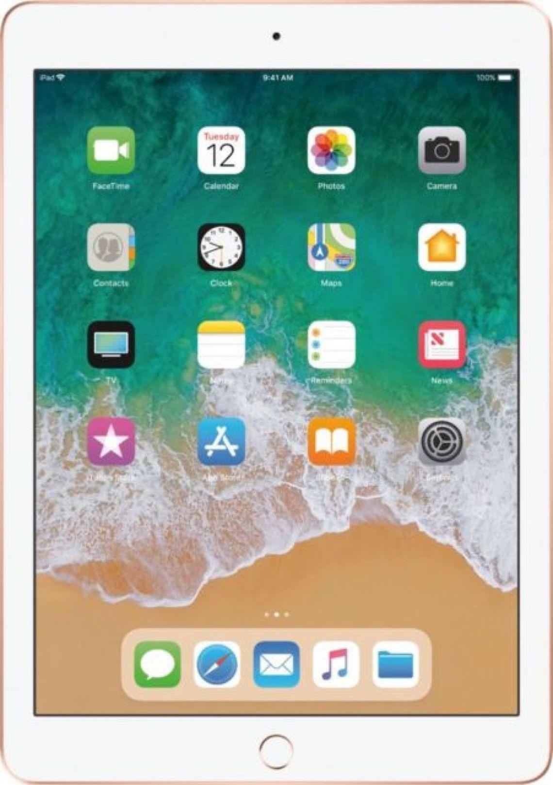Open-Box Certified: Apple - iPad (Latest Model) with Wi-Fi - 32GB - Gold | eBay