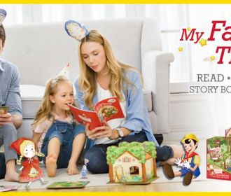 Buy Fairytale Time The Little Mermaid Playset with Educational Storybook for $14.99 (Reg : $29.99)