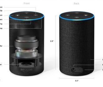 Buy Amazon Echo 2nd Generation + Echo Dot Smart Speaker Bundle for $99.98