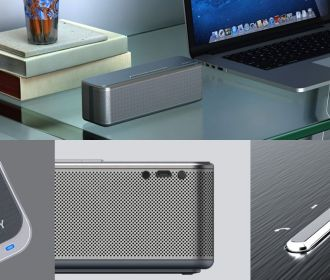 Buy Aukey's $28 metal Bluetooth speaker