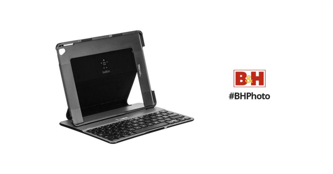Belkin QODE Ultimate Lite Keyboard Case F5L192TTBLK B&H Photo