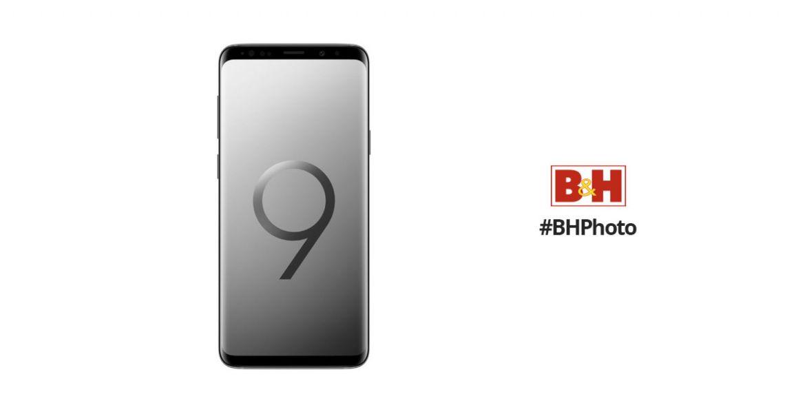 Samsung Galaxy S9 SM-G9600 64GB Smartphone SMG960064G B&H Photo