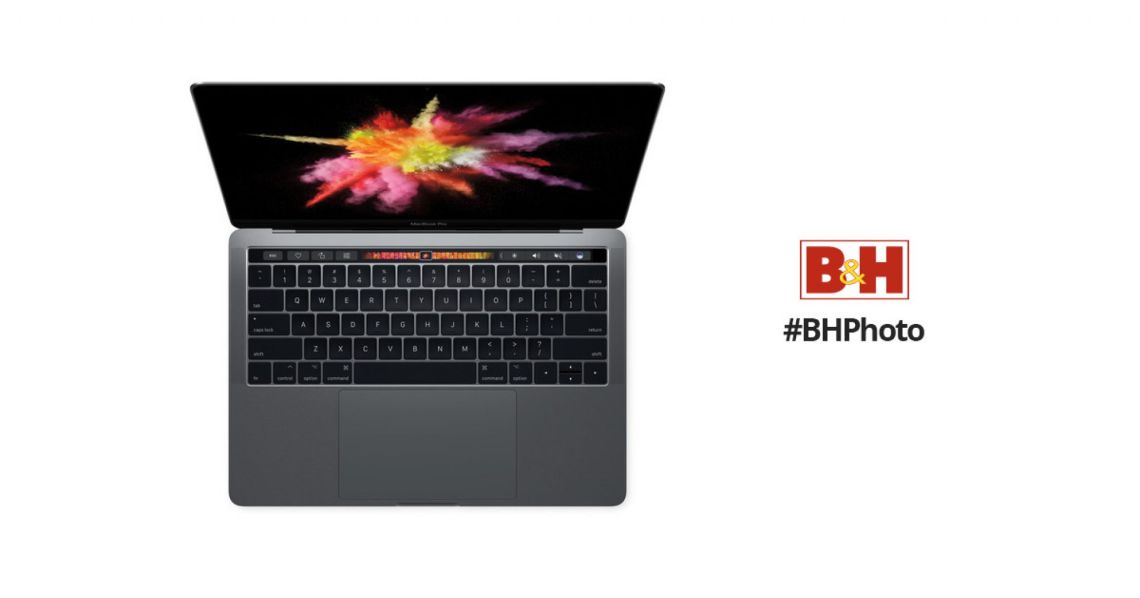 """Apple 13.3"""" MacBook Pro (Mid 2018, Space Gray) MR9R2LL/A"""