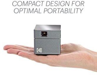 Buy Kodak's Wireless WiFi Portable Projector Brings Big Screen Viewing in a Palm Size