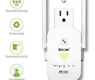 Buy AC1200 Dual Band Wifi Range Extender for $29.99