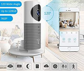 Buy Cloud Camera with 120° Wide Angle and Advanced Human/Pets/Vehicle AI Recognition Motion Sensor for $25 (was $41.99)