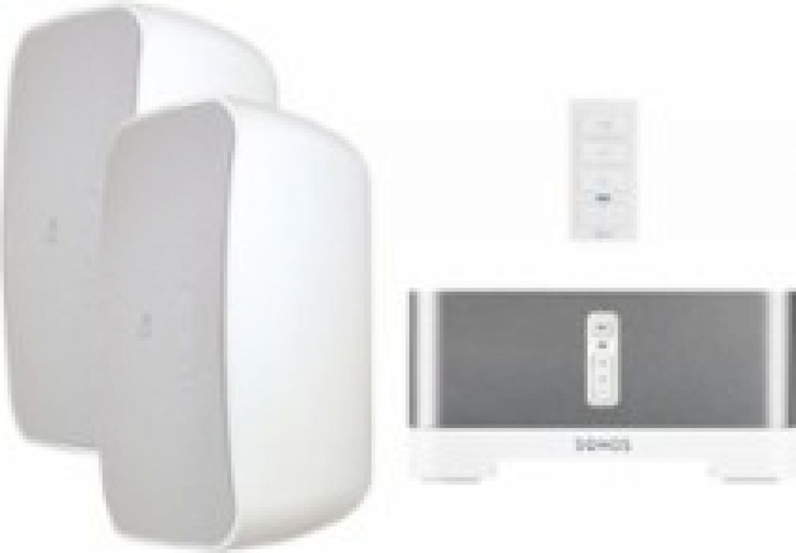 Sonos & Sonance Outdoor Speaker Streaming Audio Bundle with xPress Audio Keypad White MAGO6SYS - Best Buy