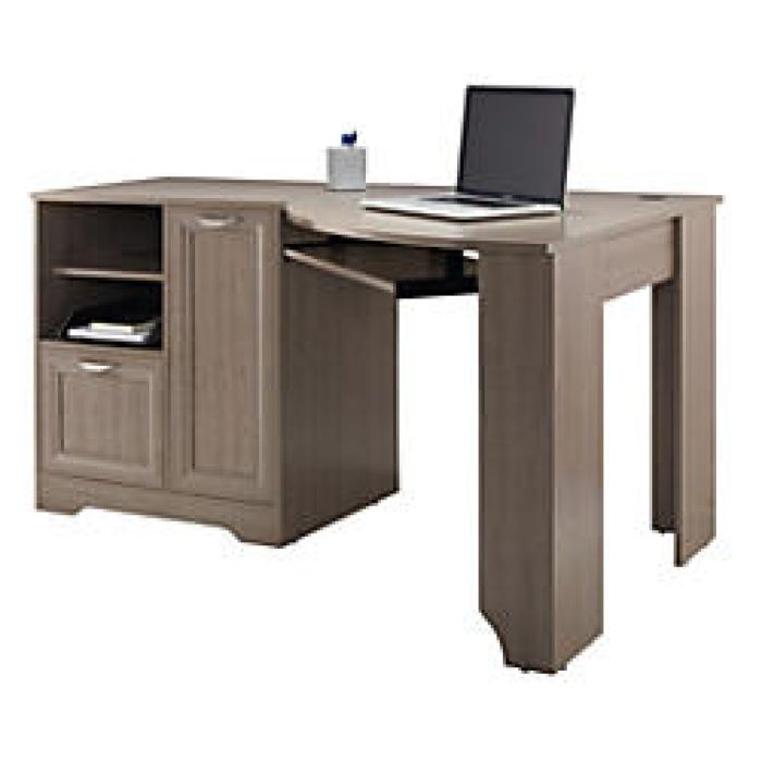 Realspace Magellan Collection Corner Desk Gray by Office Depot & OfficeMax