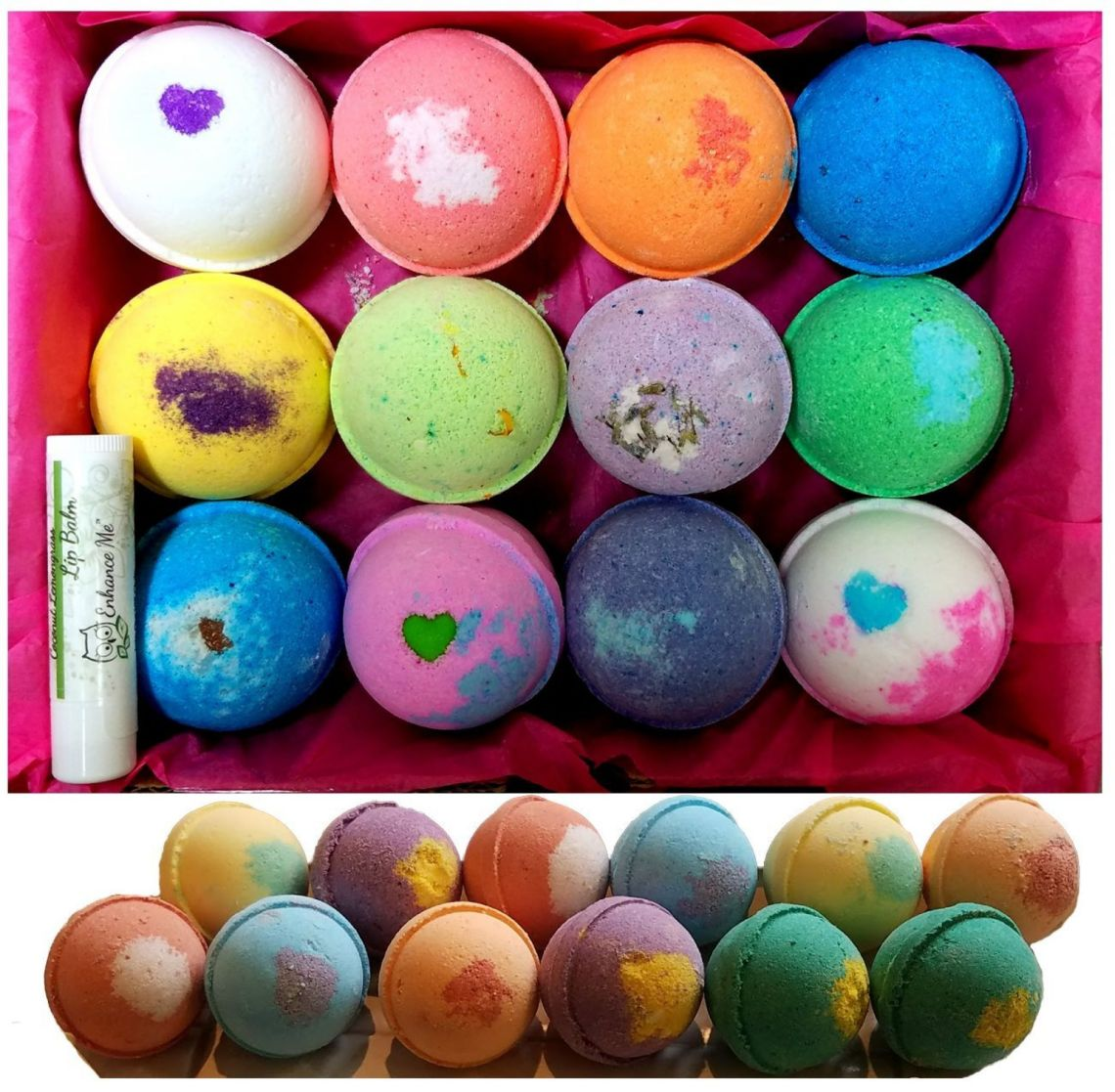 Amazon.com : Bath Bombs Gifts Set 12 Pack by Cicinady - with Essential Oil, Coco Butter Great For Dry Skin Moisturize, Relaxation Yoga and Fun - Premium Handmade Spa Bath Bomb for Kids Girlfriend Women Wife Girls : Beauty