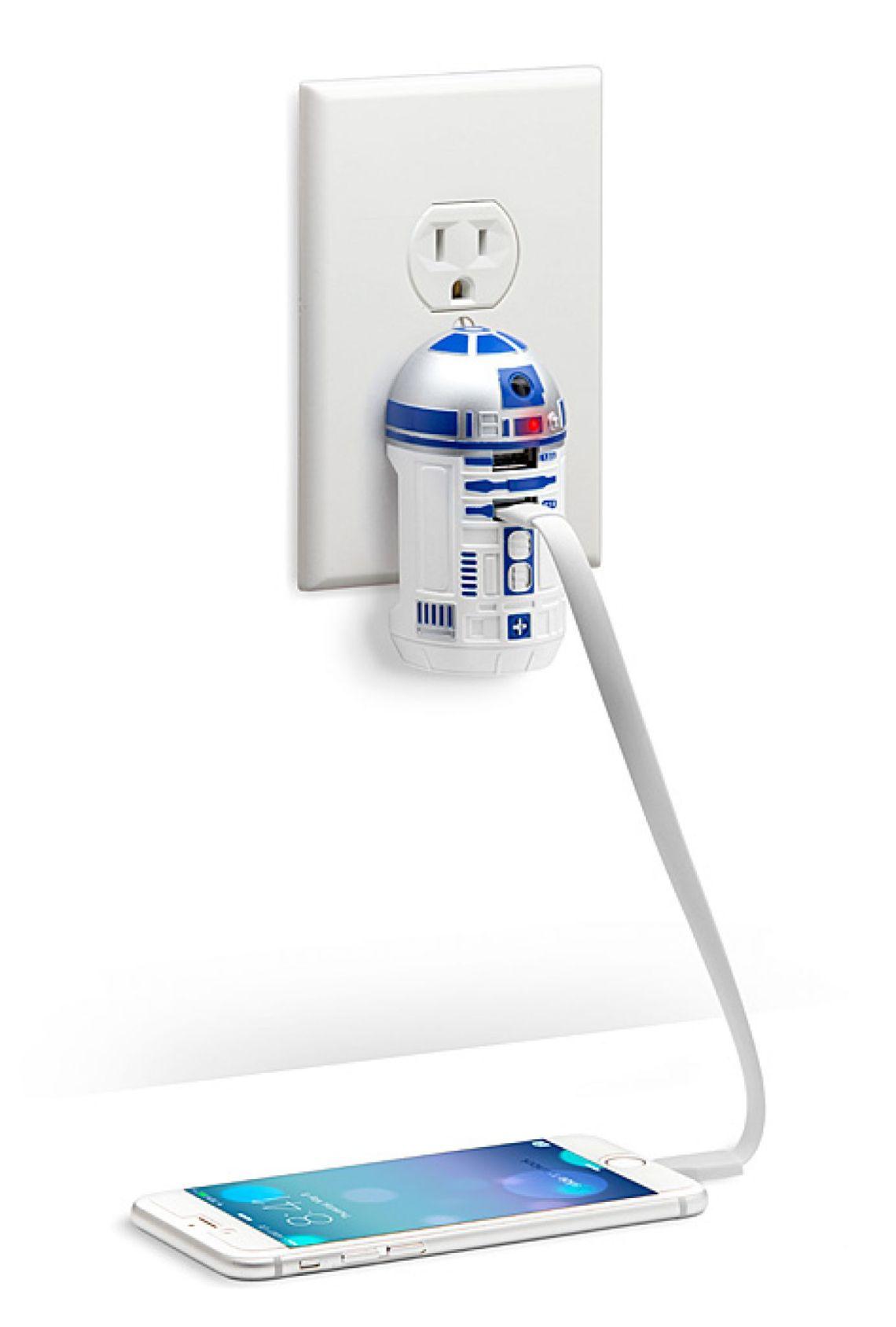 Star Wars R2-D2 USB Wall Charger | ThinkGeek