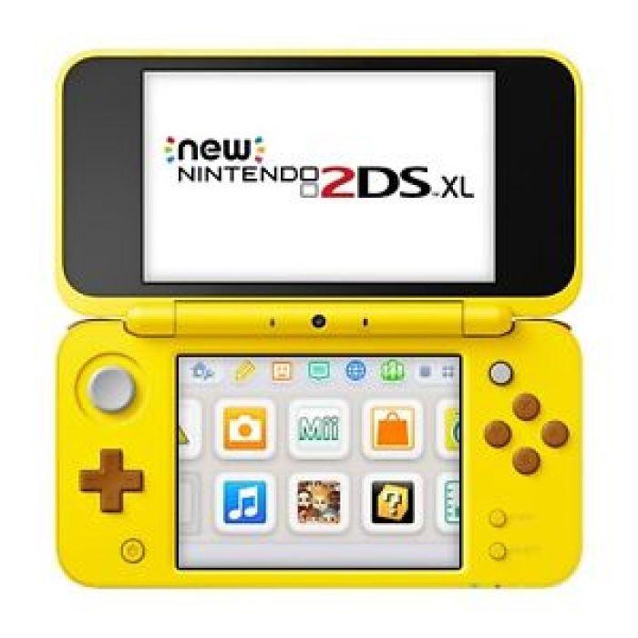 Nintendo 2DS XL   Yellow Pikachu Edition 45496782429   eBay