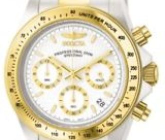 Buy Invicta 9212 Men's Speedway White Dial Chronograph Watch for $67.99 (Was $375.00)