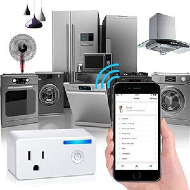 WiFi Smart Plug, EIVOTOR Wireless Socket Mini Outlet with Energy Monitoring Works with Amazon Alexa Echo Dot and Google Assistant, No Hub Required, APP Remote Control your Devices from Anywhere - - Amazon.com