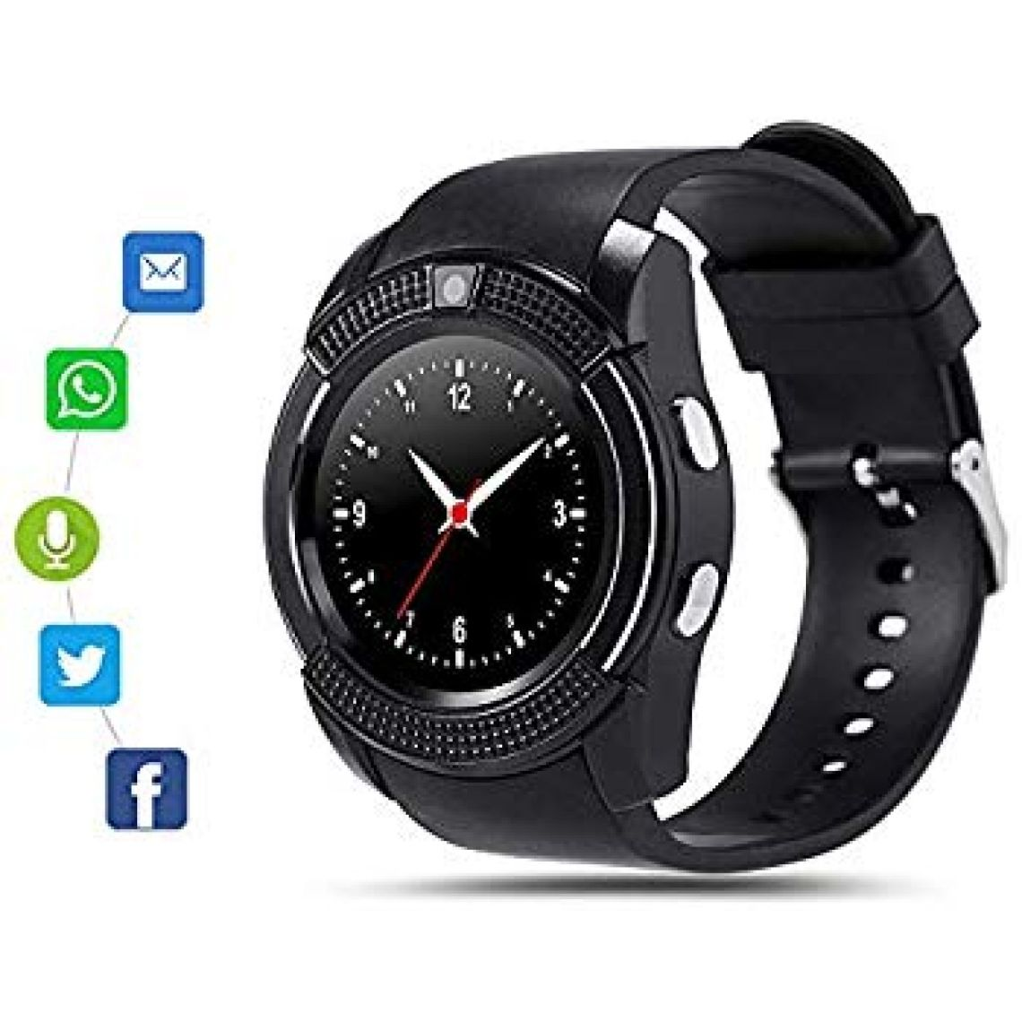 Amazon.com: Bluetooth Smart Watch for Android Phone,Android Smart Watch Touchscreen with Camera, SIM Card Slot,Music for iPhone Samsung: Cell Phones & Accessories