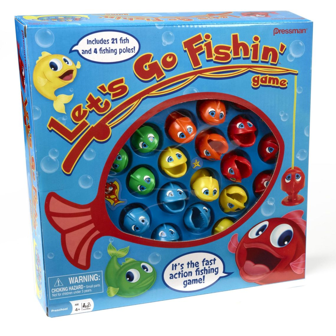 Pressman Toy Let's Go Fishin' Game - Walmart.com