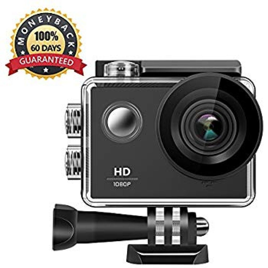 Amazon.com : 1080P Action Camera, WIFI Sports Action Camera Ultra HD Waterproof DV Camcorder Mini Video Camera with Waterproof Case, Rechargeable Battery for Outdoor Sports : Camera & Photo