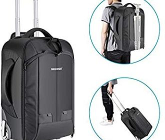Buy 2-in-1 Convertible Wheeled Camera Backpack for $89.96 (Reg : $149.94)